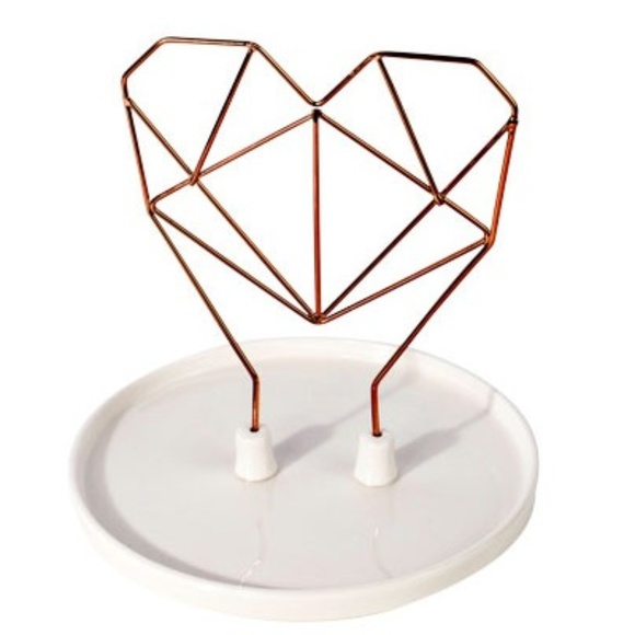 Imm Living Other - IMM Living Coxet Wire Ceramic Jewelry Holder